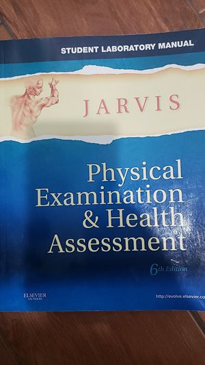 Jarvis physical examination & health assessment 6th edition for Sale in Meriden, CT