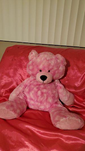 Big pink teddy bear for Sale in Los Angeles, CA