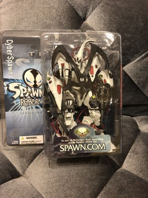 Spawn Reborn Series 2 Cyber Spawn Action Figure McFarlane Toys NEW for Sale in Fresno, CA