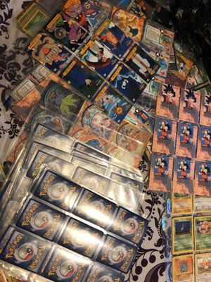 All card Pokemon dragon ball z and others for Sale in Staten Island, NY