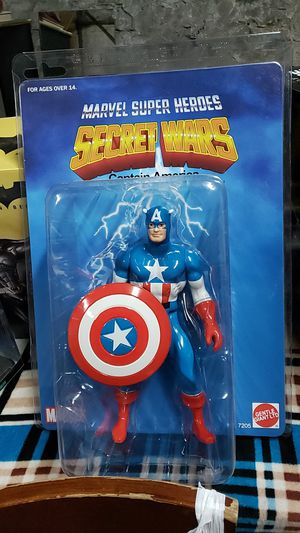 Marvel Captain America Secret Wars Jumbo Figures By Gentle Giant for Sale in New York, NY