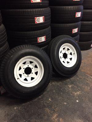 700-15 trailer wheels for Sale in Houston, TX
