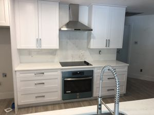All in granite marble quartz cabinets General remodeling of kitchens and bathrooms are also done repairs company: Yothuel ci granited warranty inc for Sale in Tampa, FL
