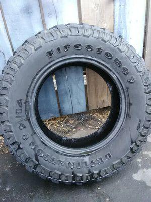 265 70 r17 ( 3 ) Firestone tires $150 for Sale in Ramona, CA