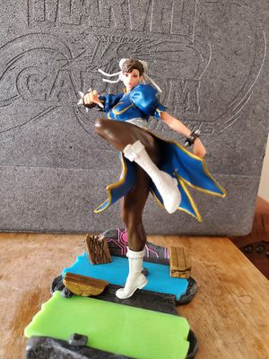 "8"" Chung li street fighter statue collectable for Sale in San Diego, CA"