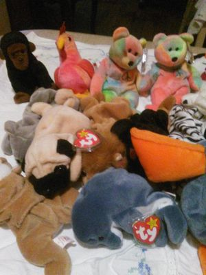 Beanies Babies (70) plus for Sale in Detroit, MI