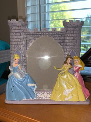 New Disney Princess picture frame from Disney world for Sale in Clinton Township, MI