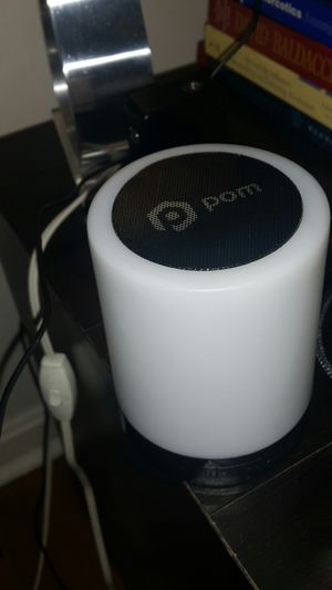 POM Gear bluetooth color changing speaker for Sale in Fairfax, VA