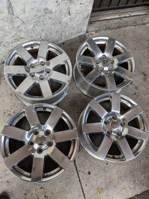 18-in polish Jeep Wrangler wheels for Sale in Boca Raton, FL