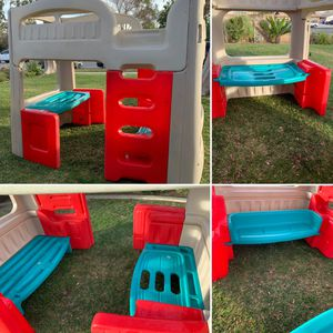 step 2 convertible bunk bed and loft bed for Sale in Fontana, CA