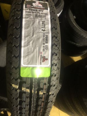BRAND NEW ST 205 75 15 trailer tires for only $90 each with FREE INSTALL!!! for Sale in Lakewood, WA