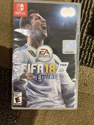 Nintendo Switch FIFA 18 for Sale in Seattle, WA