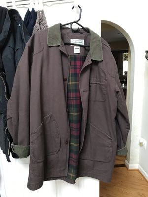 LL Bean flannel lined Barn coat XL Tall for Sale in Frederick, MD