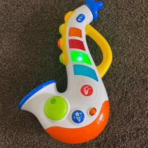 Happy Kid Toy Musical Saxophone With Lights, Sounds for Sale in Provo, UT