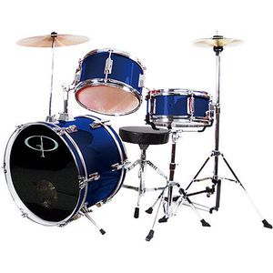 3 Piece Junior Drum Set for kids, children, beginners, muscial instrument, musical room, studio for Sale in Henderson, NV
