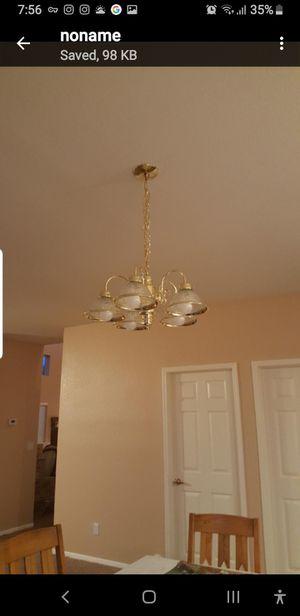 Dining room light. (Custom) install. (Relocation) for Sale in Las Vegas, NV