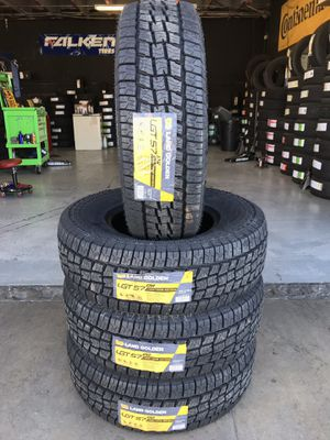 BRAND NEW SET OF ALL TERRAIN TIRES LT265/75/16 265/75r16 for Sale in Rialto, CA
