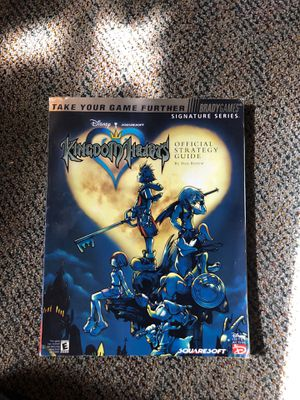 Kingdom Hearts 1 Brady Games Strategy Guide Disney Video Game for Sale in Modesto, CA