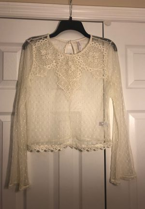 Sheer Lacy Top for Sale in Fayetteville, NC