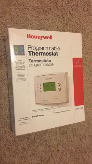 Honeywell Programmable Thermostat for Sale in Curtis Bay, MD