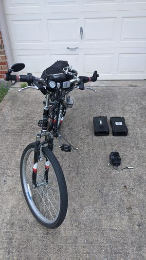 eZip Trails Electric bicycle with two new batteries for Sale in Dallas, TX