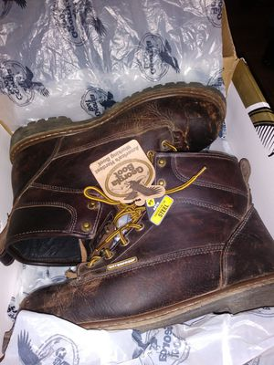 Mens georgia boot size 11.5 wide for Sale in Tacoma, WA