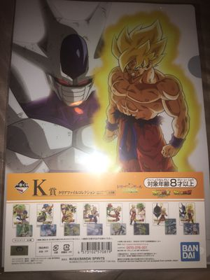 Dragon ball z folder and holo picture for Sale in San Antonio, TX