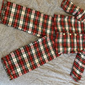 Janie and Jack Plaid Pajamas Kids 4T for Sale in Bellevue, WA