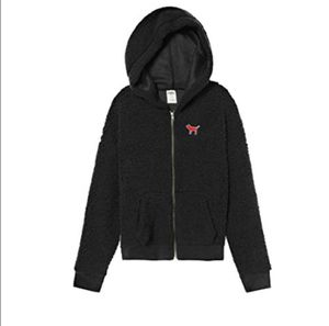 Vas Pink Sherpa Full Zip Hoodie Large Black for Sale in OH, US