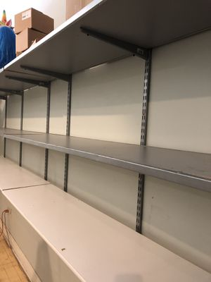 8 Industrial wall shelves for Sale in Lemont, IL