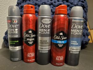 Brand New Dove or Old Spice- 2 for 7$ for Sale in Dallas, TX