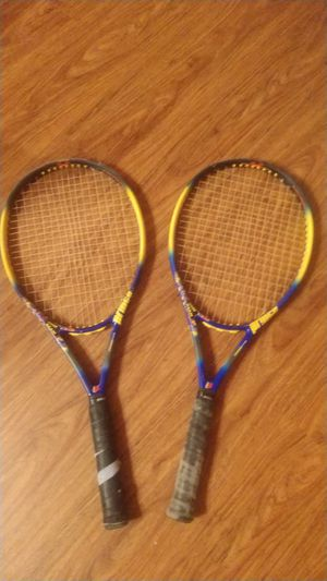 Two prince tennis rackets for Sale in Angier, NC