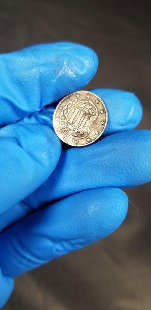 1861 Silver Three Cent for Sale in Chicago, IL