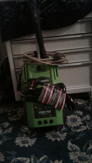 Greenworks pressure washer 1500 psi for Sale in Tampa, FL