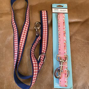 2 New Heavy Duty /animal Leashes $6 Each for Sale in Fresno, CA