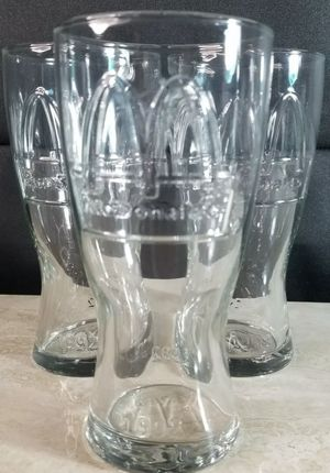 Set Of (4) Unused VINTAGE 1992 McDonalds Novelty Glasses for Sale in Painesville, OH