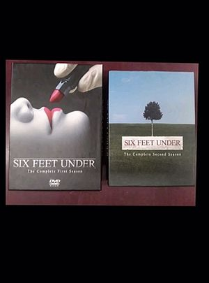 SIX FEET UNDER DVD SET SEASON ONE ( 1 ) & SEASON TWO ( 2 ) for Sale in Columbus, OH