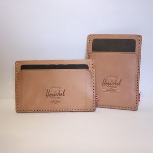 Herschel leather card case wallets for Sale in New York, NY