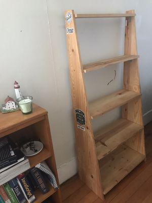Ladder Bookcase Shelf for Sale in La Mesa, CA