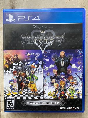 Kingdom Hearts Remix: Remastered PS4 for Sale in Costa Mesa, CA
