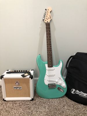 Squire Guitar and Orange amp package for Sale in Mooresville, IN
