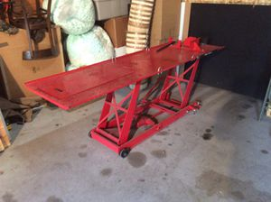 Harbor Freight Motorcycle Lift for Sale in Minocqua, WI