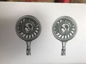 High performance chrome motorcycle speakers for Sale in Chicago, IL