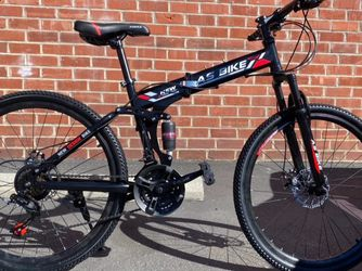 """26"""" Foldable Bike Mountain Bike Full Suspension Brand New 21 Speed for Sale in Los Angeles,  CA"""