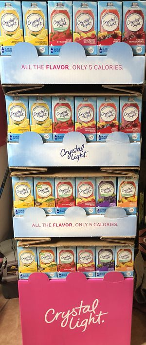 Crystal light On the go packets for Sale in Lake Alfred, FL