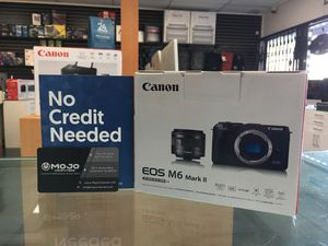Canon M6 Mark II. Down payment option for Sale in Burbank, CA