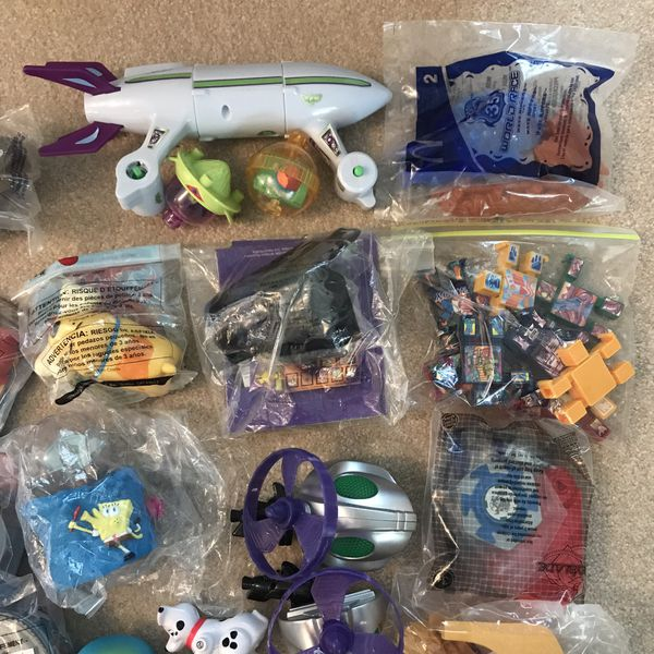 Happy meal toys Most are new
