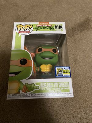 Funko Pop Michelangelo w/ Surfboard #1019 for Sale in San Pedro, CA