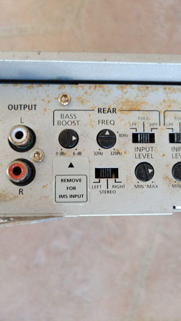 Infinity amplifier 475 watts