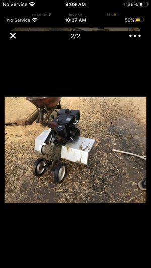 Great craftsman tiller for tractor just needs a gas line for Sale in Bakersfield, CA